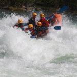 Rafting gjennom Kvitveggen i Ofossen